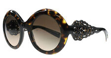 New Dolce Gabbana Sunglasses Round DG4265 502/13  Brown/Brown Fast Ship