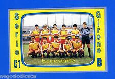 CALCIATORI PANINI 1985-86 - Figurina-Sticker n. 563 - BENEVENTO SQUADRA -Rec