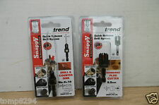 "TREND SNAPPY 9.5MM (3/8"") PLUG CUTTER SNAP/PC/38 & CS10 DRILL COUNTERSINK"