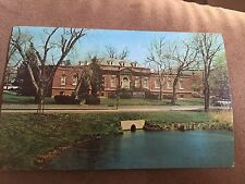 Chrome Post Card-Suffolk Co.. Historical Museum Riverhead Long Island NY