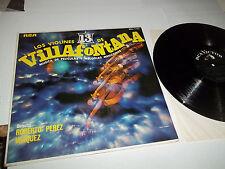 LOS VIOLINES 13 DE VILLAFONTANA LP RCA MEXICAN IMPORT ORIGINAL MONO MKL-1794