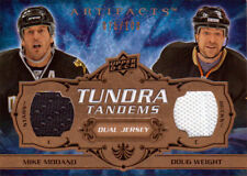 08-09 Artifacts TUNDRA TANDEMS xx/100 Made! Mike MODANO and Doug WEIGHT - Stars