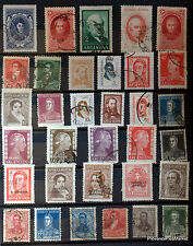 ARGENTINE  LOT TIMBRES OBLITERES  NON TRIES 88M101