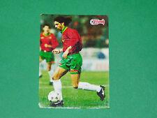 FOOTBALL CARD UEFA EURO 96 1996 MANUEL RUI COSTA PORTUGAL EUROPEAN STARS PANINI