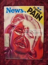 NEWSWEEK April 25 1977 Apr 4/25/77 FIGHTING PAIN HENRY FORD II REPTILE SMUGGLERS