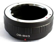 Olympus OM to Micro 4/3 M43 Mount Adapter G3 GH3 GX1 EPL5 EP3 OM-D E-M5 OM-M43