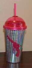Gun Insulated Cold Beverage Travel Cup with Lid & Crazy Loop Straw Travel Mug
