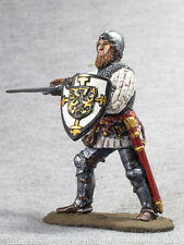 Action Figure Toy Medieval 1/32 Knight of Teutonic Order Paint Tin Soldier 54mm