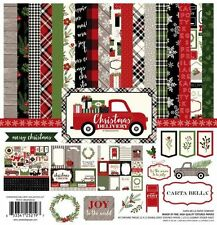 """CARTA BELLA """"CHRISTMAS DELIVERY"""" 12X12 PAPER WINTER CHRISTMAS SCRAPJACK'S PLACE"""