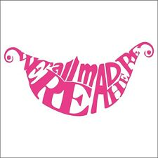 Cheshire Cat Decal / Sticker - Choose Size & Color - Alice in Wonderland, Disney