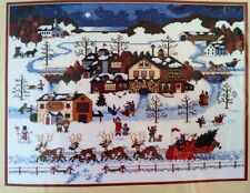 DIMENSIONS TIS THE SEASON #8460 CHRISTMAS HOLIDAY CHARLES WYSOCKI SANTA REINDEER