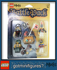 LEGO® PIRATES Sealed Battle Pack of 4 minifigures NEW 85247 carton