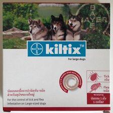 Kiltix Dog Collar Tick Flea 5 months control Large size infestation Bayer RED