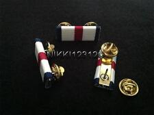 CONSPICUOUS GALLANTRY CROSS MEDAL RIBBON BAR (PIN ON)
