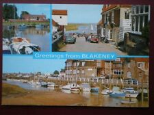 POSTCARD NORFOLK BLAKENEY - MULTI VIEW
