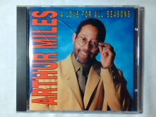 ARTHUR MILES A love for all seasons cd ITALY UNIQUE MINT -