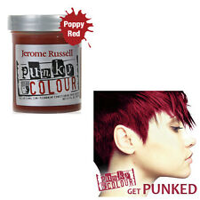 Jerome Russell Punky Colour Semi-Permanent Hair Color Poppy Red 1420