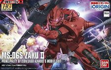 MS-06S Zaku II 2 High Grade HG The Origin Scale 1/144 Model Bandai