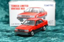 [TOMICA LIMITED VINTAGE NEO LV-N10b 1/64] NISSAN SUNNY 1500 4WD SUPER SALOON Red
