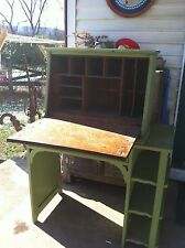 Vintage Oak Secretary Desk 1920s