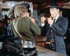 FOR A FEW DOLLARS MORE LEE VAN CLEEF AT BAR SMOKING PIPE 8X10 PHOTO