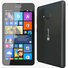 BNIB NOKIA LUMIA 535 BLACK 8GB 3G UNLOCKED WINDOWS 8 SMART WIFI MOBILE PHONE