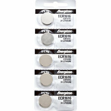 5 x Energizer CR1616 Watch Batteries, Lithium battery 1616