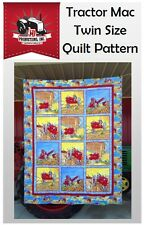 Tractor Mac Twin Size Quilt Pattern Kit