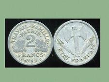 2 FRANCS BAZOR 1944