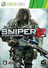 Used Xbox 360 Sniper: Ghost Warrior 2 MICROSOFT JAPAN JAPANESE JAPONAIS IMPORT