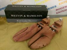 Melvin & Hamilton Quality Red Cedar Wooden Shoe Tree Stretcher, Size 45 UK 10/11