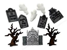 Jesse James Buttons - Dress It Up ~ Graveyard Ghosts 6689 ~ Halloween -Tombstone
