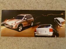 2003 Porsche Cayenne Turbo SUV Showroom Advertising Sales Poster RARE!! Awesome