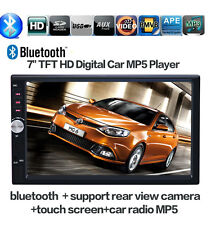 7'' HD Bluetooth Car Stereo Autoradio 2 DIN FM/MP5/USB/AUX/Touch Screen Headunit
