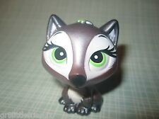 MGA Bratz Lil' Petz Pet Rare Silver Metallic Fox Dog w/ Green Eyes