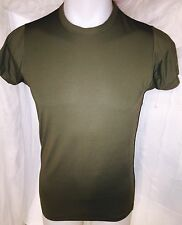 USMC US MARINE CORPS TACTICAL MARINES UNIFORM SPANDEX GREEN SHIRT MED