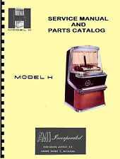 MANUALE COMPLETO (manual) JUKEBOX AMI H (juke box)