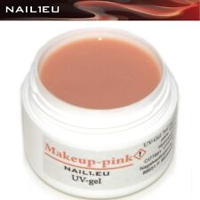 Make Up Aufbau-Gel MakeUP PINK NAIL1.EU 7ml/ UV Camouflage Aufbau Builder Gel