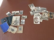 WW2 STALAG II  PHOTOGRAPHS AND DIARY     ALL TO RESEARCH  POSTCARD + PHOTOS