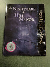 A Nightmare at Hill Manor   Free RPG Day Module     World of Darkness White Wolf