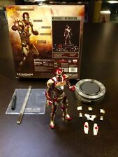 Play imaginative PI 1/12   Iron man 3 MK42 super alloy Glow joint Movable NEW