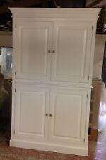 Painted 4 Door Kitchen Storage / Larder Cupboard
