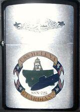 ZIPPO Us Navy Submarine USS HELENA SSN 725 1990