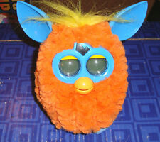 FURBY Interactive Orange,Blue Plush Pet Toy Hasbro Electronic, Digital Eyes