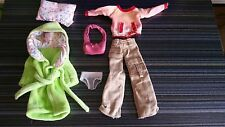 ONLY HEARTS CLUB LOT W1 DOLL OUTFITS, PILLOW, PURSE, CHONEYS/ UNDERPANTS, MORE