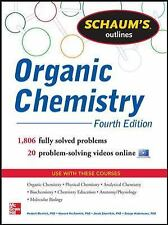 Schaum's Outline of Organic Chemistry: 1,806 Solved Problems + 24 Videos (Schaum
