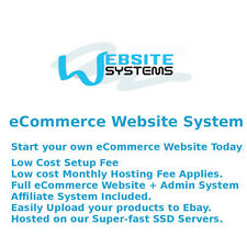Website Systems™ 5GB SSD eCommerce System - Create your Online Shop Today £35/m