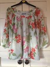 Ladies Floral Top From Wallis Size Med 14
