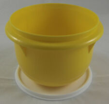 Tupperware Pengschüssel 1 l Peng Rührschüssel mit Deckel Gelb Neu OVP