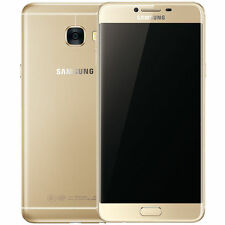 New Imported Samsung Galaxy C7 Duos Dual SIM 64GB 4G LTE - Gold